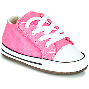Skor Flickor Höga sneakers Converse Chuck Taylor First Star Canvas Hi Rosa
