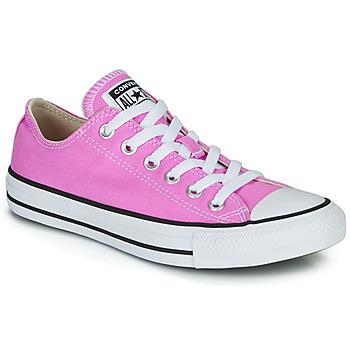 Skor Dam Sneakers Converse CHUCK TAYLOR ALL STAR SEASONAL COLOR Rosa