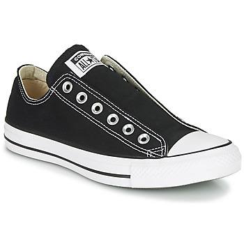 Skor Dam Slip-on-skor Converse CHUCK TAYLOR ALL STAR SLIP CORE BASICS Svart