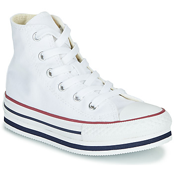 Skor Flickor Höga sneakers Converse CHUCK TAYLOR ALL STAR PLATFORM EVA EVERYDAY EASE Vit