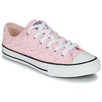 Skor Barn Sneakers Converse CHUCK TAYLOR ALL STAR DAISY CROCHET Rosa