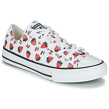 Skor Barn Sneakers Converse CHUCK TAYLOR ALL STAR SPRING FRUITS Vit / Röd