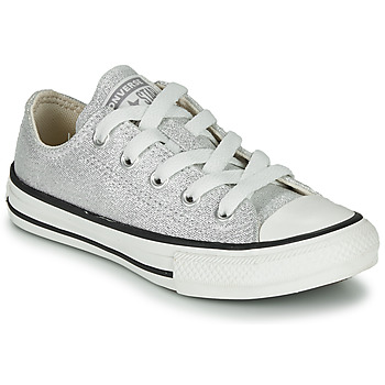 Skor Barn Sneakers Converse CHUCK TAYLOR ALL STAR SUMMER SPARKLE Grå