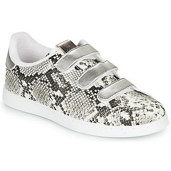 Skor Dam Sneakers Victoria TENIS SERPIENTE VELCRO Grå