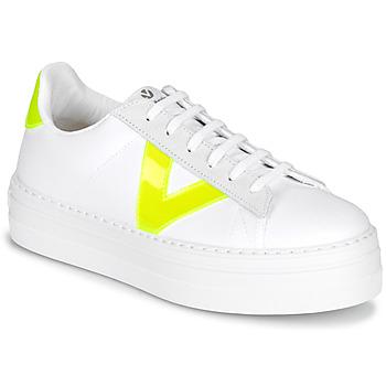 Skor Dam Sneakers Victoria BARCELONA LONA Vit