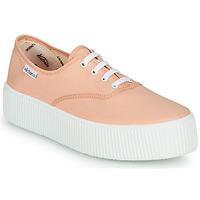 Skor Dam Sneakers Victoria DOBLE LONA Korall