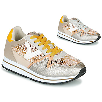 Skor Dam Sneakers Victoria COMETA SERPIENTE Beige