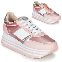 Skor Dam Sneakers Victoria COMETA DOBLE METAL Rosa