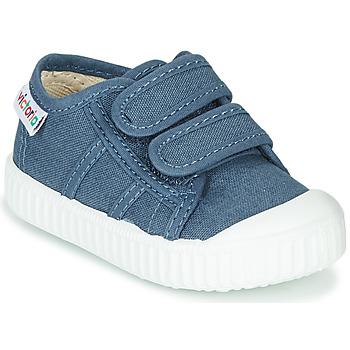 Skor Barn Sneakers Victoria BASKET VELCRO Blå