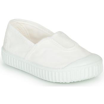 Skor Flickor Sneakers Victoria CAMPING TINTADO Vit