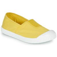 Skor Flickor Sneakers Victoria CAMPING TINTADO Gul