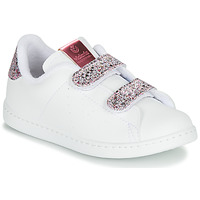 Skor Flickor Sneakers Victoria TENIS VELCRO G Vit