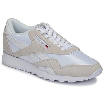 Skor Sneakers Reebok Classic CL NYLON Vit / Beige