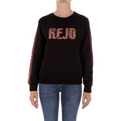 textil Dam Sweatshirts Kejo KW20-609W Nero