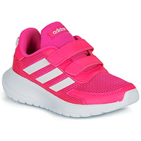 Skor Flickor Sneakers adidas Performance TENSAUR RUN C Rosa / Vit