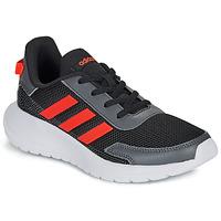 Skor Pojkar Sneakers adidas Performance TENSAUR RUN K Svart / Röd