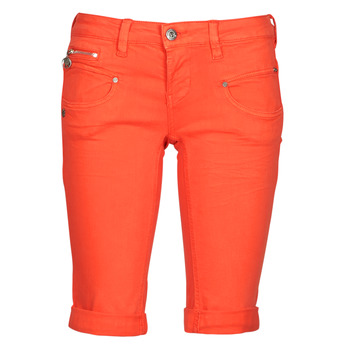 textil Dam Shorts / Bermudas Freeman T.Porter BELIXA NEW MAGIC COLOR Orange