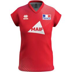 textil Dam T-shirts Errea Maillot femme third Equipe de france 2020 rouge