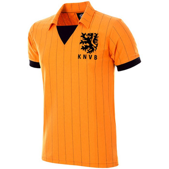 textil Herr T-shirts Copa Football Maillot rétro Pays-Bas 1983 orange