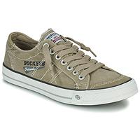 Skor Herr Sneakers Dockers by Gerli 30ST027-450 Kaki