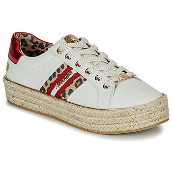 Skor Dam Sneakers Dockers by Gerli 46GV202-509 Vit / Flerfärgad