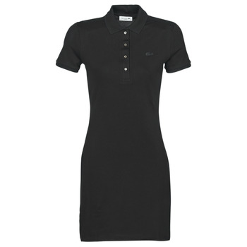 textil Dam Korta klänningar Lacoste  Svart