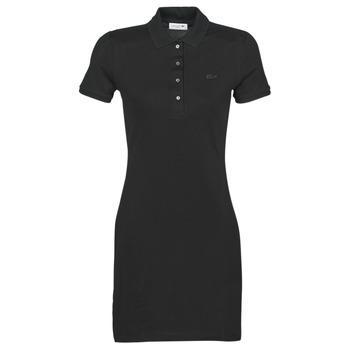 textil Dam Korta klänningar Lacoste GAIL Svart