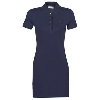 textil Dam Korta klänningar Lacoste  Marin