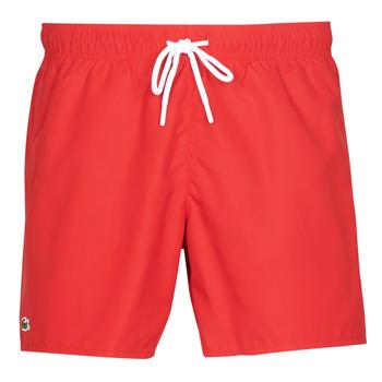 textil Herr Badbyxor och badkläder Lacoste JEANNAH Röd