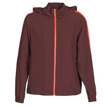 textil Dam Sweatshirts Lacoste AMINA Bordeaux