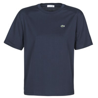 textil Dam T-shirts Lacoste  Marin