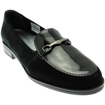 Skor Dam Loafers Calzaturificio Loren LOX5907ne nero