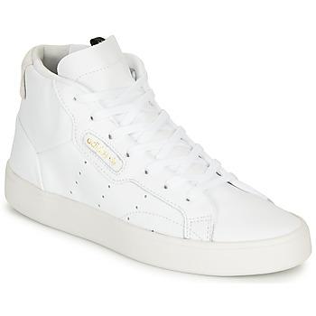 Skor Dam Höga sneakers adidas Originals adidas SLEEK MID W Vit