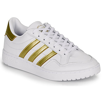 Skor Dam Sneakers adidas Originals MODERN 80 EUR COURT W Vit / Guldfärgad