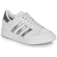 Skor Dam Sneakers adidas Originals MODERN 80 EUR COURT W Vit / Silverfärgad