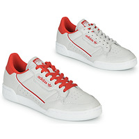 Skor Sneakers adidas Originals CONTINENTAL 80 Beige / Röd