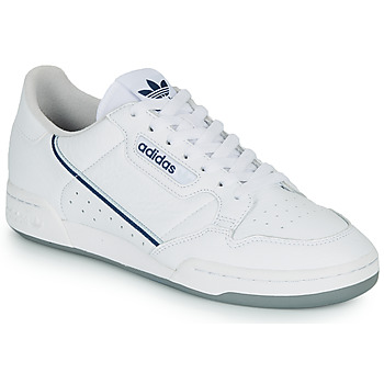 Skor Sneakers adidas Originals CONTINENTAL 80 Vit / Blå