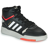 Skor Herr Höga sneakers adidas Originals DROP STEP Svart / Vit