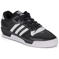 Skor Herr Sneakers adidas Originals RIVALRY LOW Svart / Vit