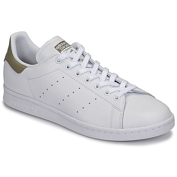 Skor Sneakers adidas Originals STAN SMITH Vit / Beige