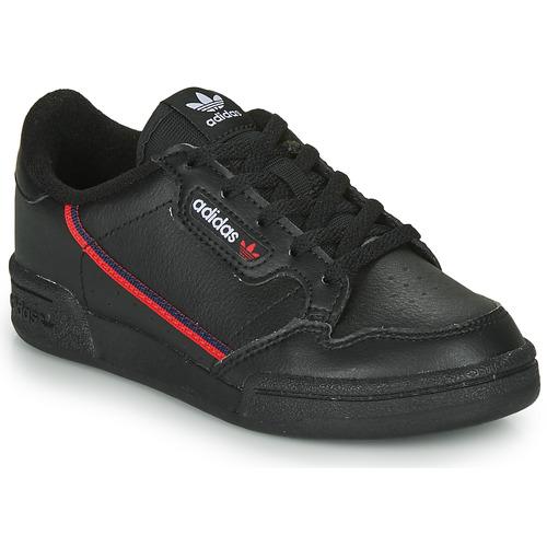 Skor Barn Sneakers adidas Originals CONTINENTAL 80 C Svart