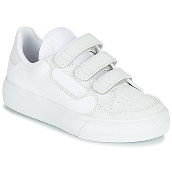 Skor Barn Sneakers adidas Originals CONTINENTAL VULC CF C Vit / Beige