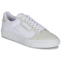 Skor Barn Sneakers adidas Originals CONTINENTAL VULC J Vit / Beige