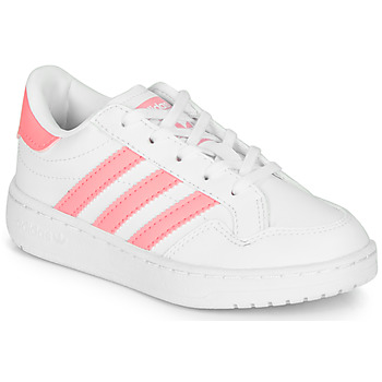 Skor Flickor Sneakers adidas Originals Novice C Vit / Rosa