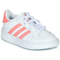 Skor Flickor Sneakers adidas Originals NOVICE EL I Vit / Rosa