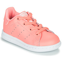 Skor Flickor Sneakers adidas Originals STAN SMITH EL I Rosa