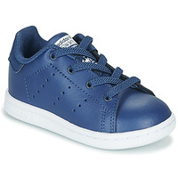Skor Pojkar Sneakers adidas Originals STAN SMITH EL I Marin
