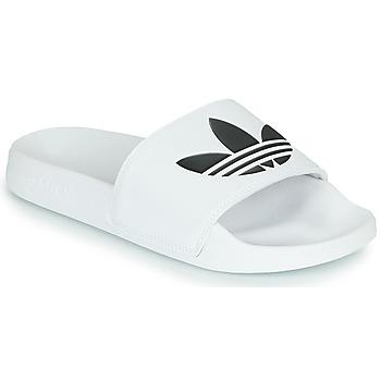 Skor Flipflops adidas Originals ADILETTE LITE Vit