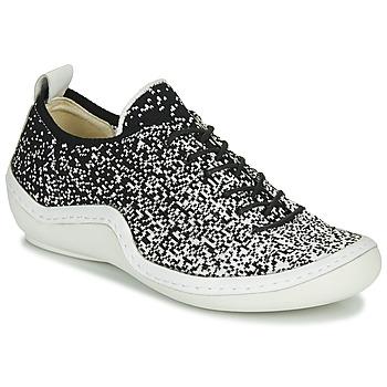 Skor Dam Sneakers Think KAPSL Svart / Vit