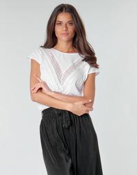 textil Dam Blusar Guess SS MALIKA TOP Vit